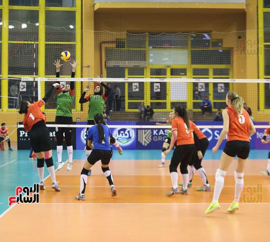 افتتاح البطولة العربية لأندية سيدات الطائرة (19)