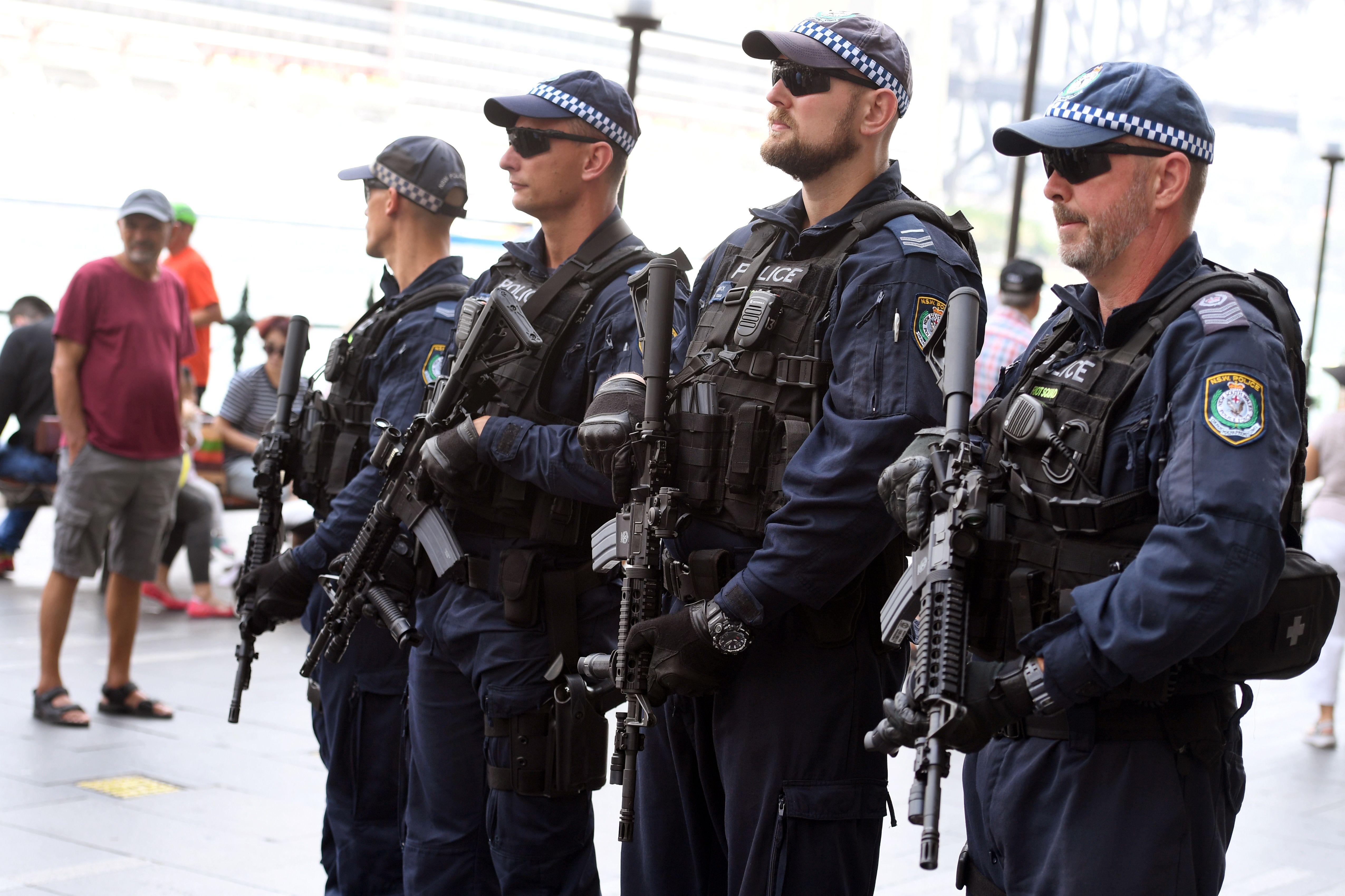 قوات مكافحة الإرهاب الأسترالية