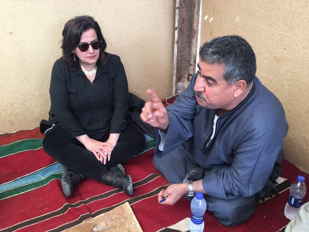 جانب من جولة الدتورة منى محرز نائب وزير الزراعة (3)