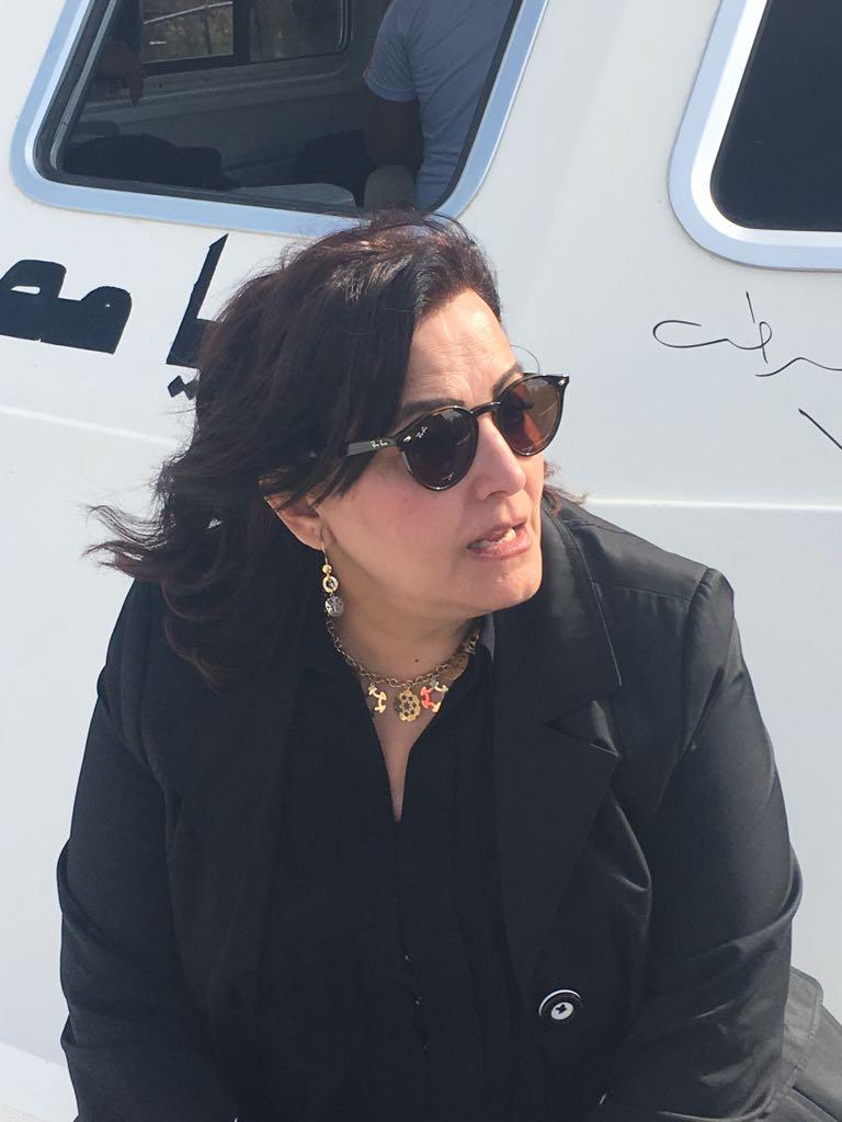 جانب من زيارة الدكتورة منى  محرز لأسوان (2)