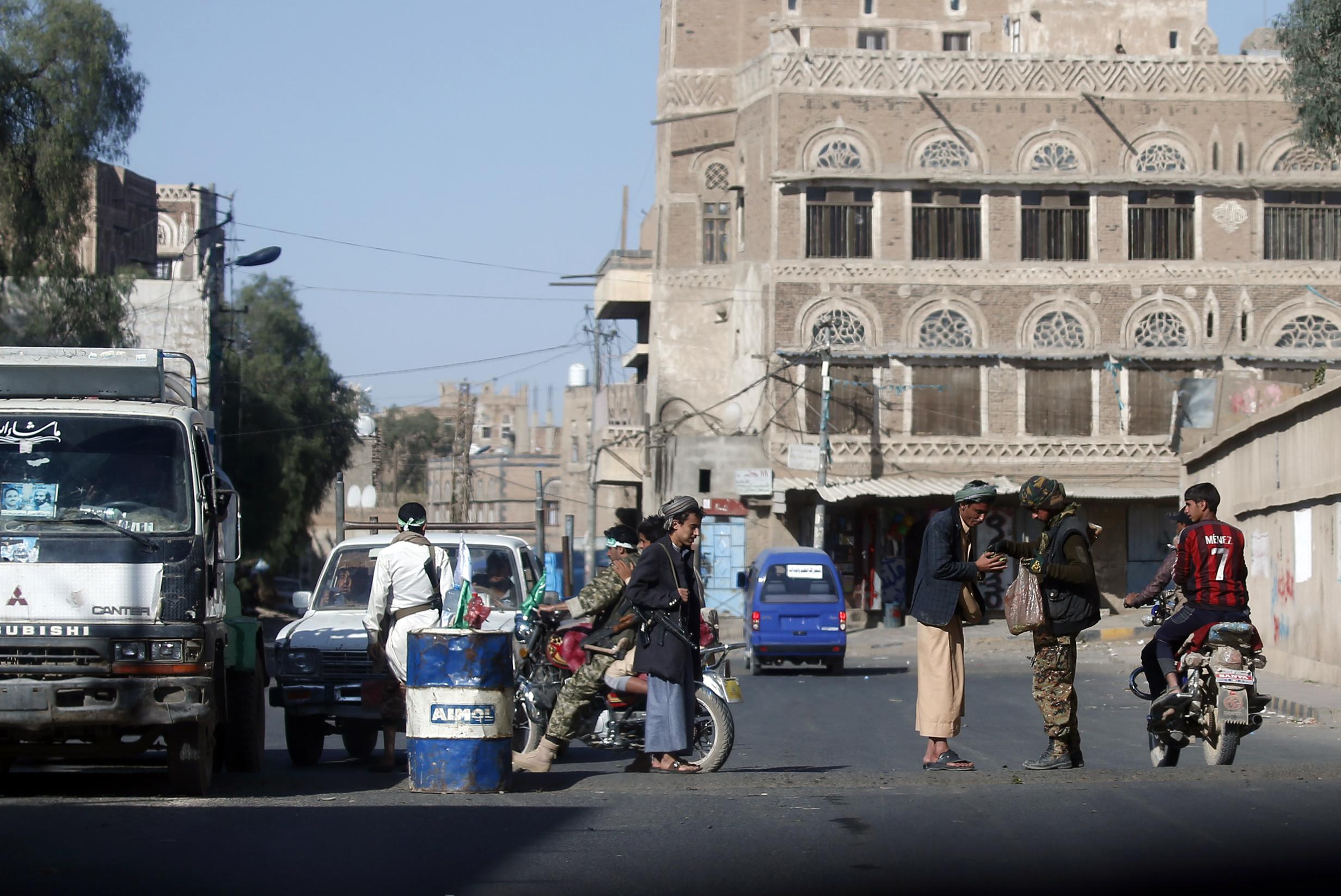 شوارع صنعاء