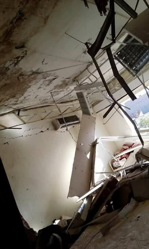 انفجار سخان غاز بمستشفى الخارجة العام