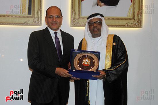 صورة سفارة أبو ظبى بالقاهرة تحتفل بالعيد الوطنى الإماراتى (5)