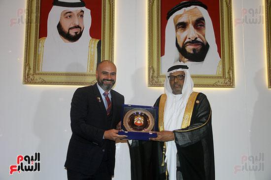صورة سفارة أبو ظبى بالقاهرة تحتفل بالعيد الوطنى الإماراتى (4)