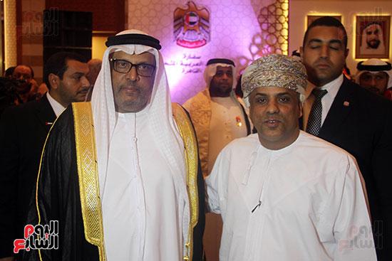 صورة سفارة أبو ظبى بالقاهرة تحتفل بالعيد الوطنى الإماراتى (9)