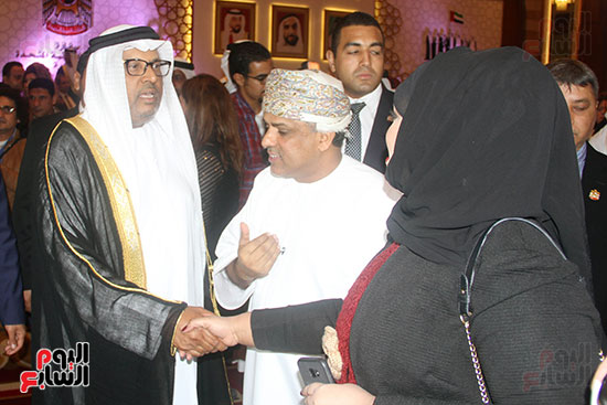 صورة سفارة أبو ظبى بالقاهرة تحتفل بالعيد الوطنى الإماراتى (7)