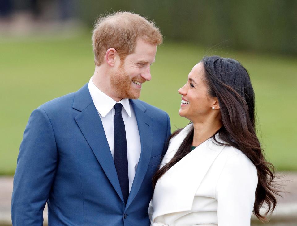 الأمير هارى وخطيبته