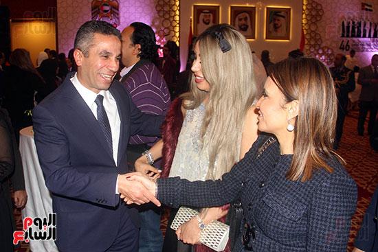 صورة سفارة أبو ظبى بالقاهرة تحتفل بالعيد الوطنى الإماراتى (23)