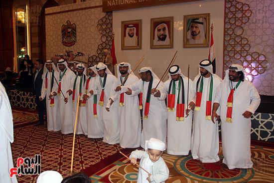 صورة سفارة أبو ظبى بالقاهرة تحتفل بالعيد الوطنى الإماراتى (14)