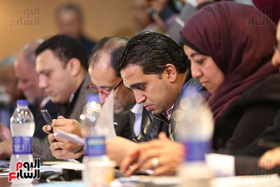 صور مؤتمر المراسلين الأجانب المنعقد بمقر الهيئة العامة للاستعلامات (23)