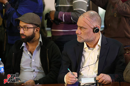 صور مؤتمر المراسلين الأجانب المنعقد بمقر الهيئة العامة للاستعلامات (14)