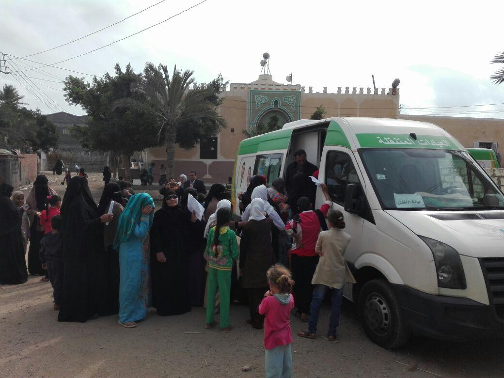 قوافل مستقبل وطن بقرى كفر الشيخ