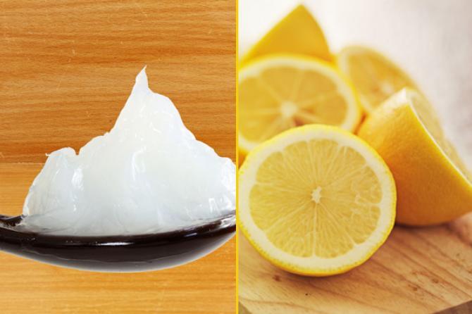 الفازلين وعصير الليمون