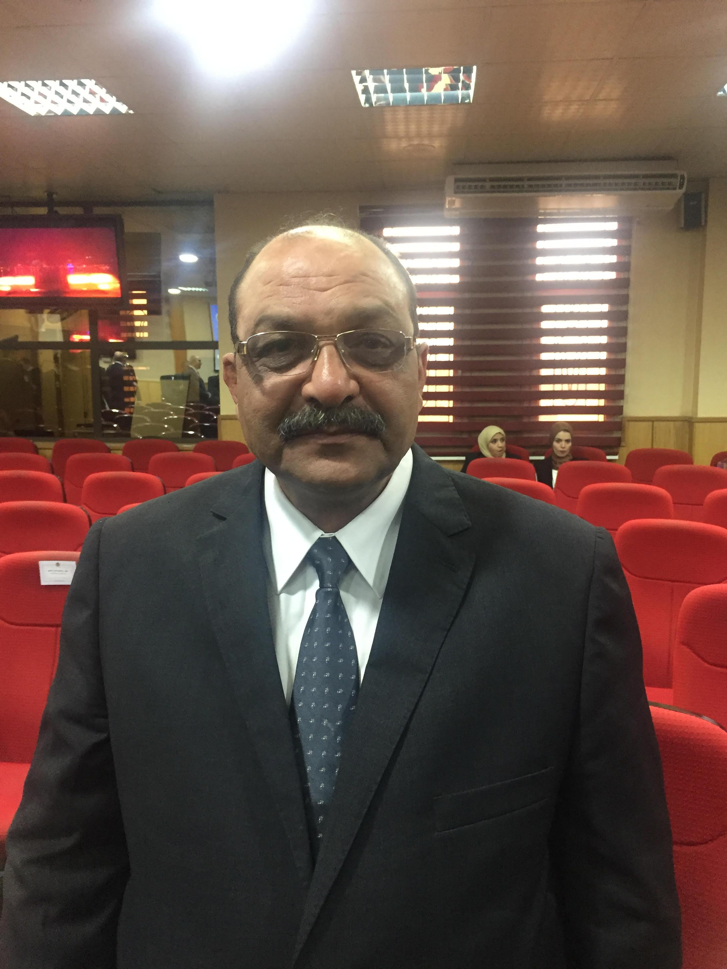 اللواء خلف حسين مدير شرطة الرعاية اللاحقة