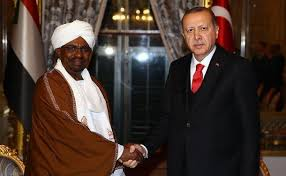 الرئيسان الاخوانيين البشير وأردوغان