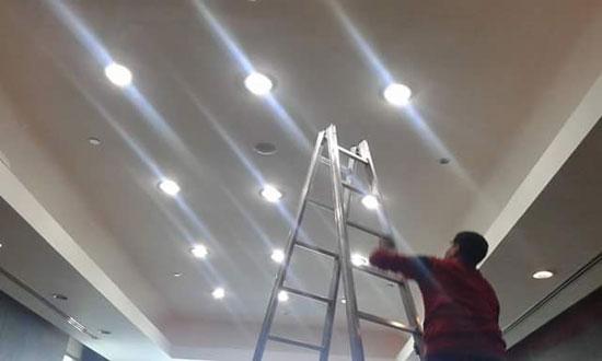 الانتهاء من تجديد الإضاءة بالصالة الموسمية بمطار القاهرة (2)