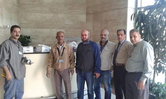 الانتهاء من تجديد الإضاءة بالصالة الموسمية بمطار القاهرة (1)