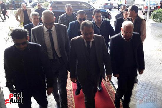 وصول وزير الصحة إلى محافظة بورسعيد