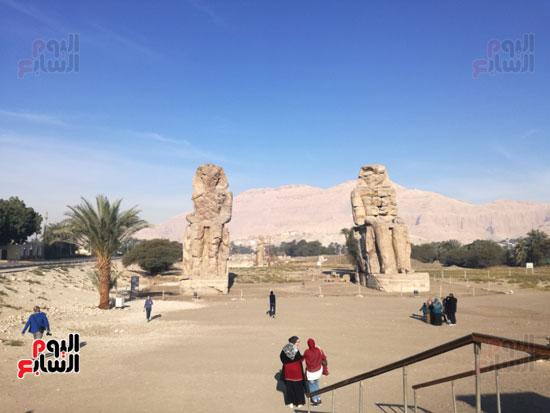 معدلات سياحية مميزة بمختلف محافظات مصر السياحية