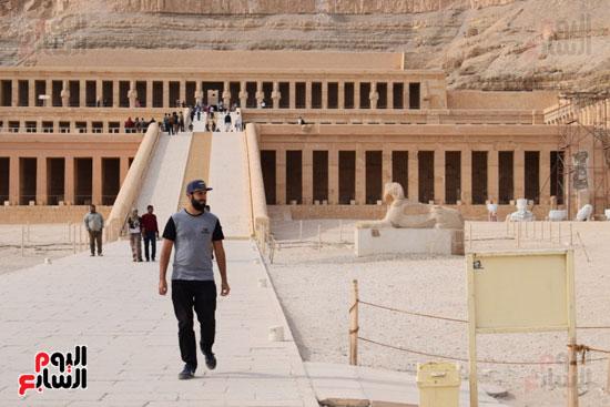 زيادة اعداد السائحين بمختلف المحافظات السياحية