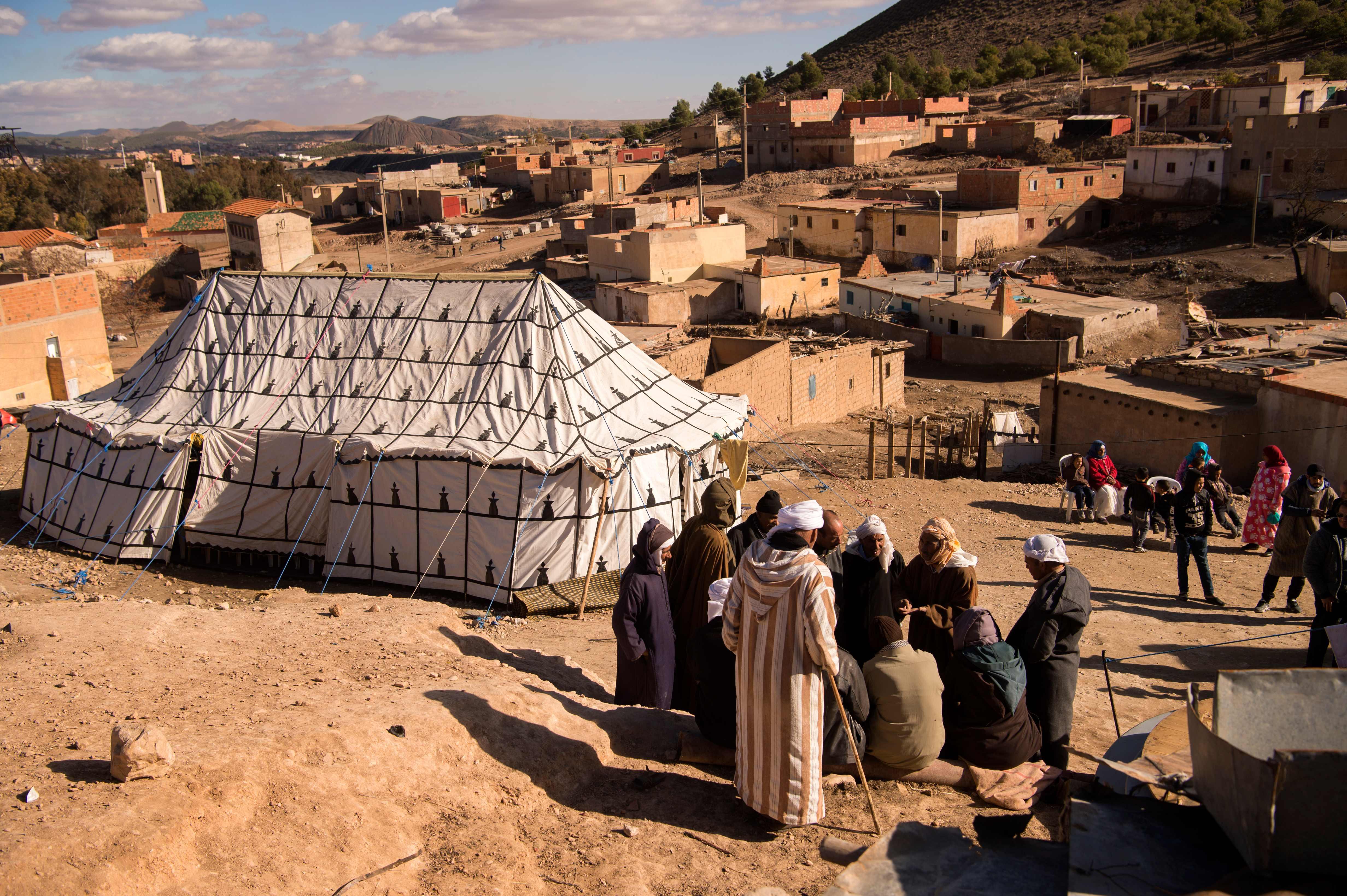 القرية المغربية