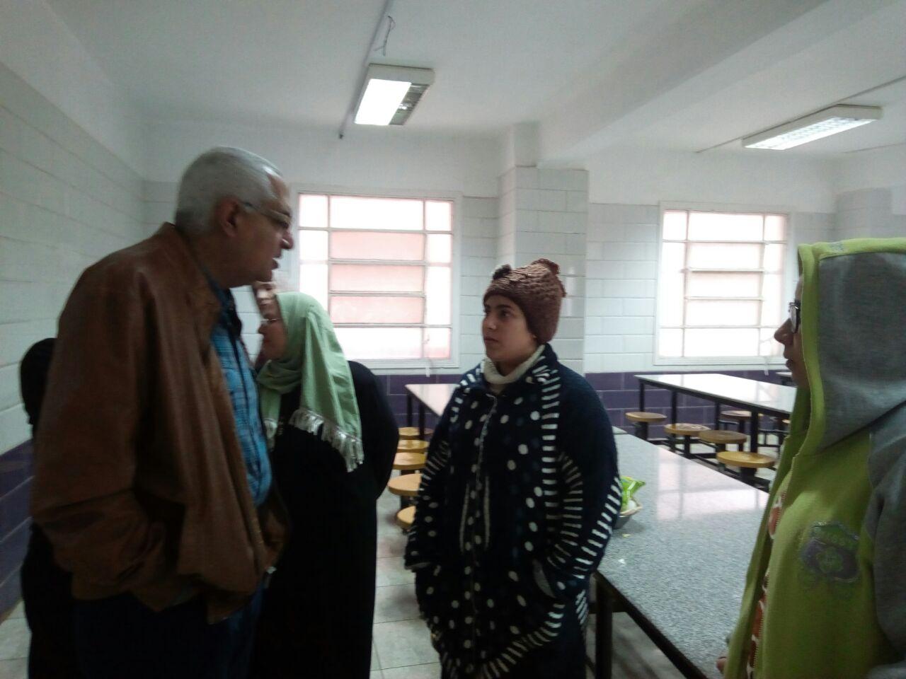 زيارة مفاجئة لمدينة الطالبات بالمنصورة