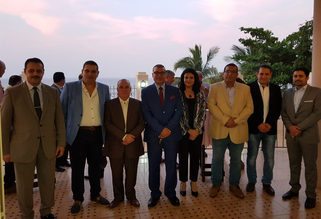 حفل تكريم السفير المصرى فى عمان