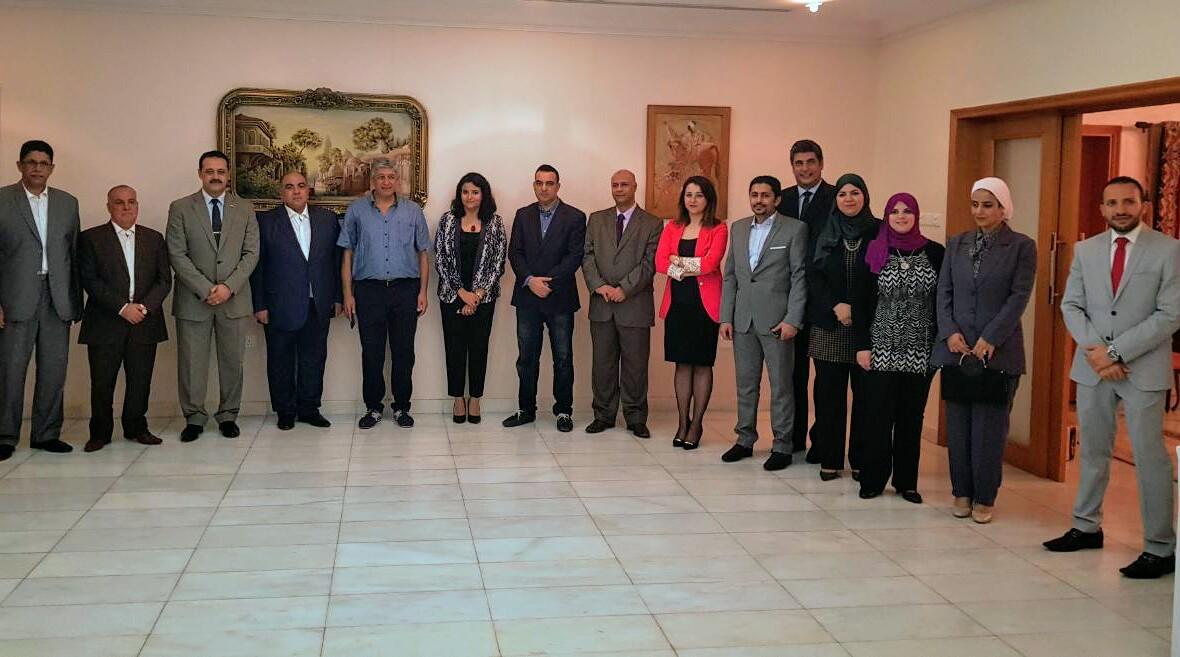 حفل تكريم السفير المصرى