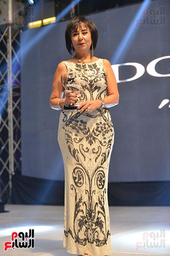 حنان شومان تتسلم جائزة اليوم السابع