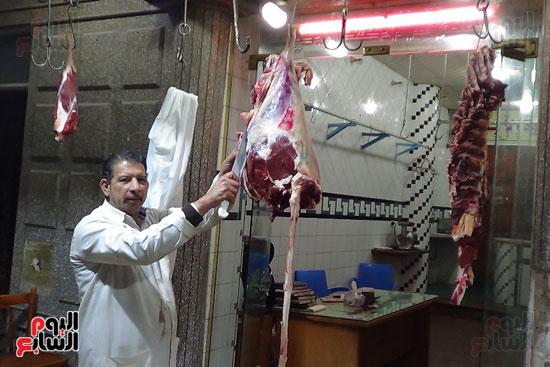 صور انخفاض أسعار اللحوم فى المحافظات (4)