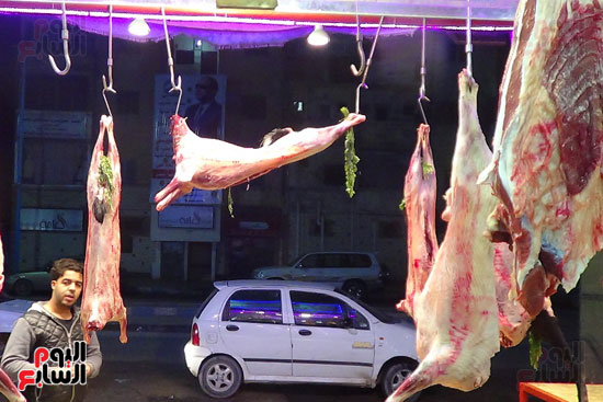 صور انخفاض أسعار اللحوم فى المحافظات (6)
