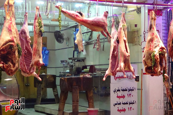 صور انخفاض أسعار اللحوم فى المحافظات (1)