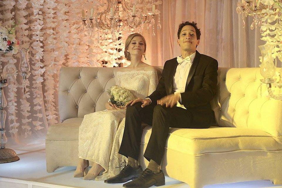 أحمد الحجار وعروسه