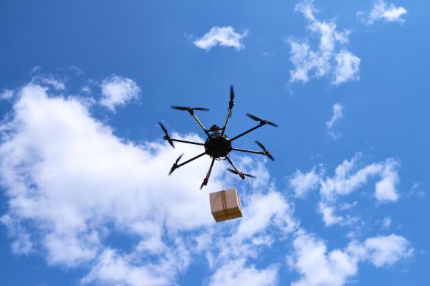 تهريب المخدرات بالطائرات بدون طيار