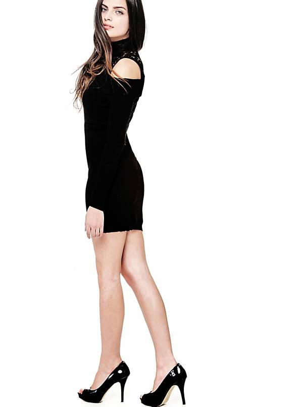 فستان صوف
