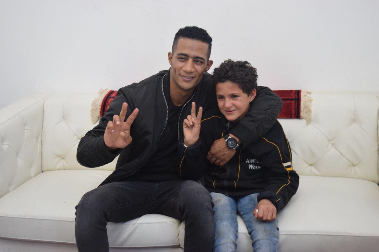 محمد رمضان وطفل طنطا