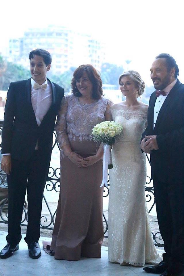 على الحجار يحتفل بزواج ابنه حمد