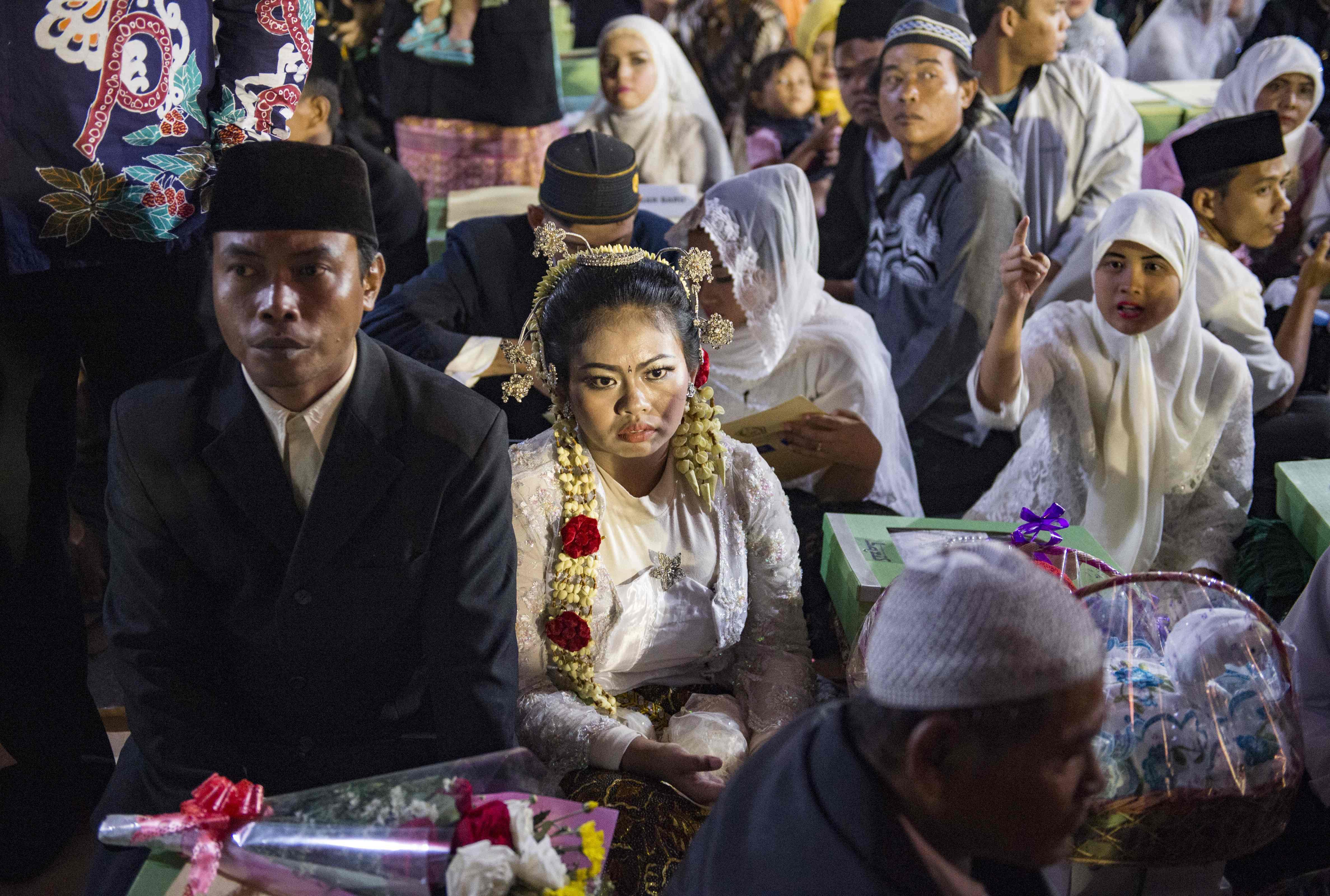 زواج جماعى بإندونسيا