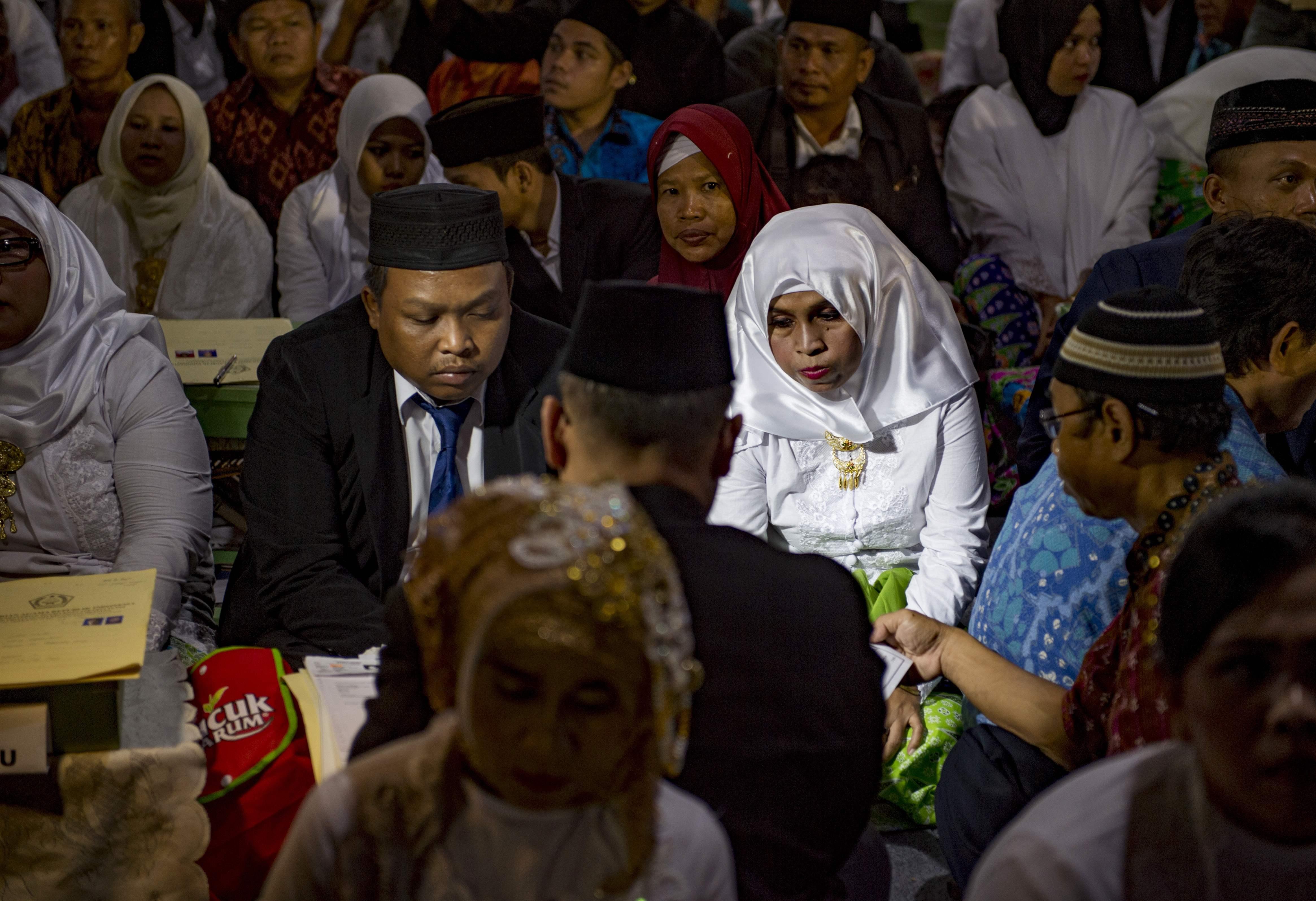 حفلات الزواج الجماعية