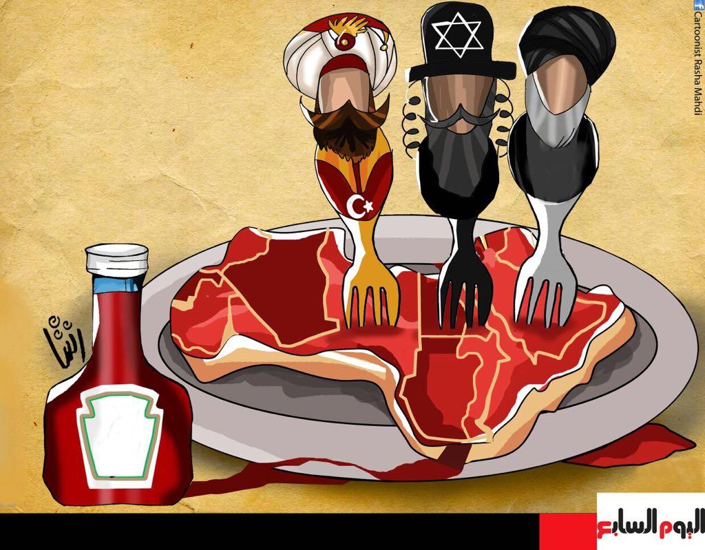 حال الدنيا.. نافذة على العالم بالكاريكاتير للفنانة رشا مهدى  (6)