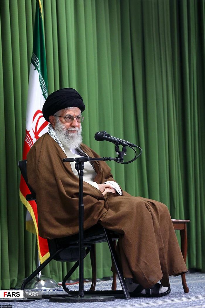 المرشد الإيرانى على خامنئى