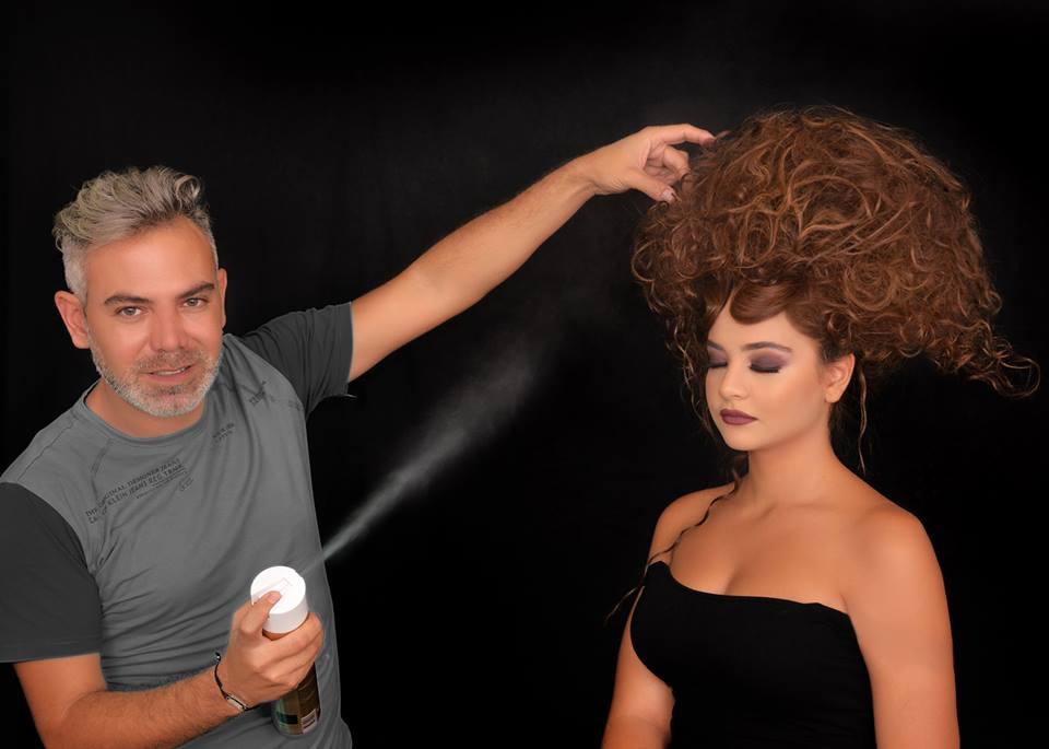 دانى لحود يقدم تسريحات الشعر ليلة الكريسماس  (2)
