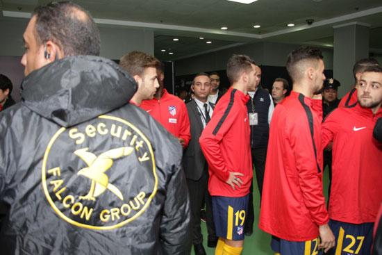 تأمين مباراة الأهلى وأتليتكو مدريد (2)