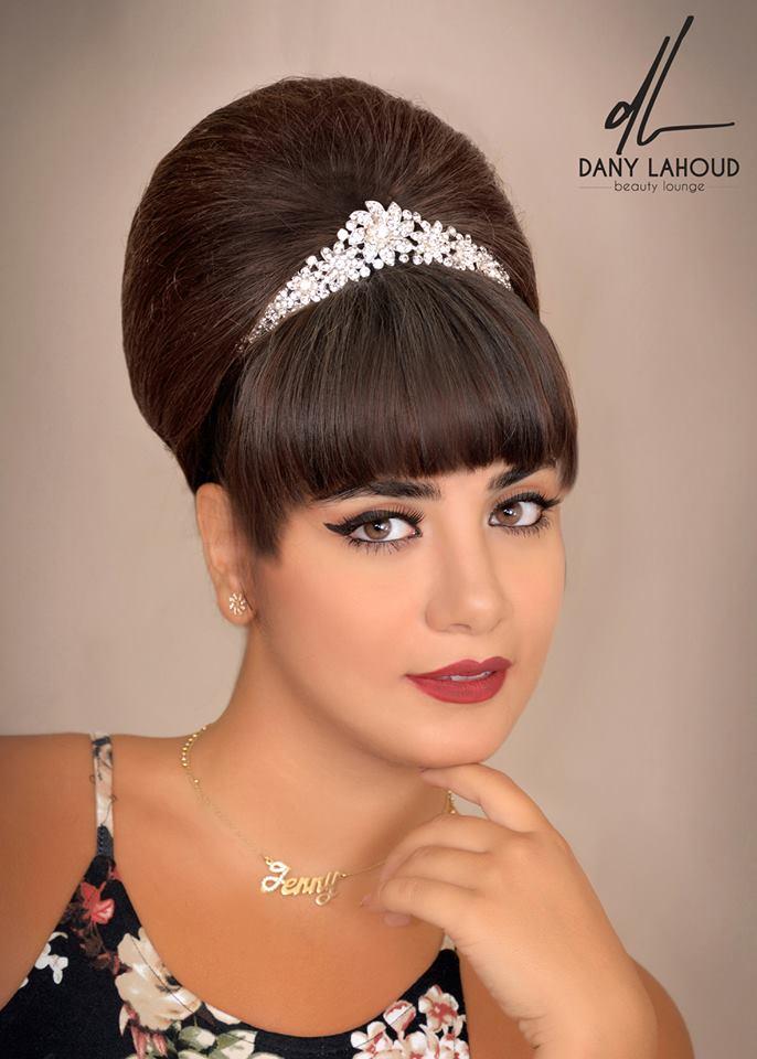 دانى لحود يقدم تسريحات الشعر ليلة الكريسماس  (5)