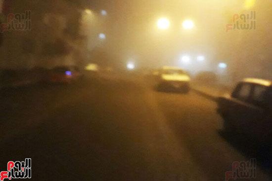 الشبورة-تغطى-الشوارع-ببورسعيد-(4)