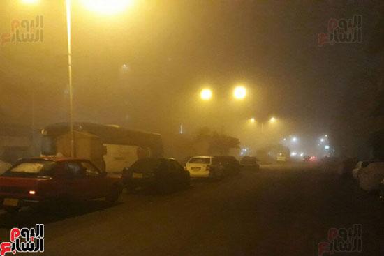 الشبورة-تغطى-الشوارع-ببورسعيد-(2)