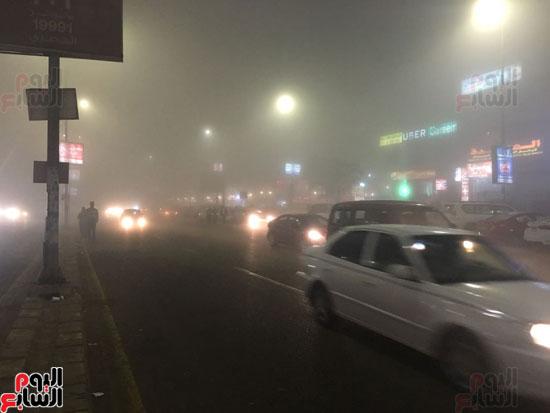 الشبورة تغطى سماء القاهرة  (4)