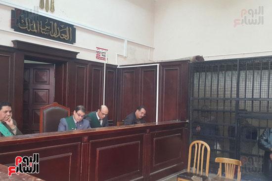 هيئة المحكمة فى الجلسة