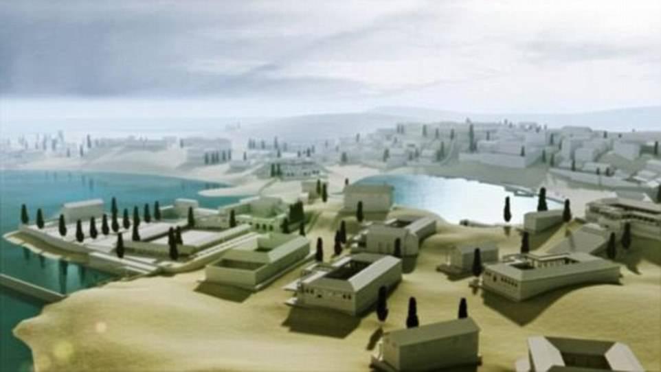 اكتشاف مدينة رومانية قديمة غارقة  (4)