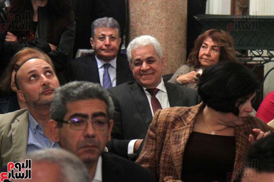 صور حفل توقيع كتاب لمحمد سلماوى (9)